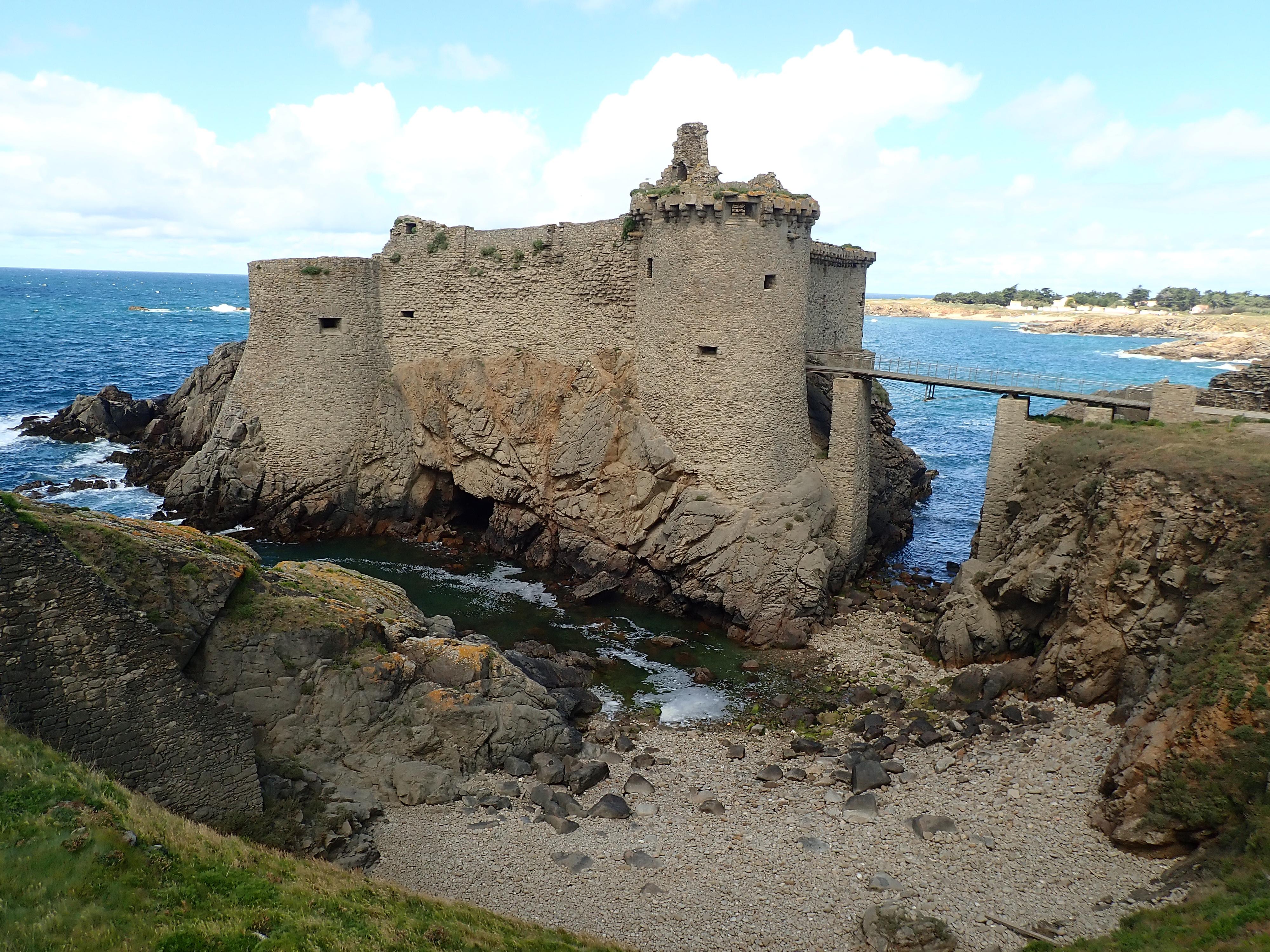 Vieux-Château de l'Île-d'Yeu, France
