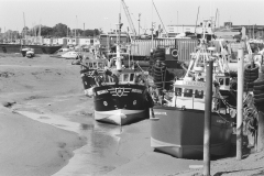Boats at Old Leigh